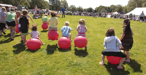 Childrens Sports at Coniston Country Fair
