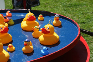 Sideshows at Coniston Country Fair