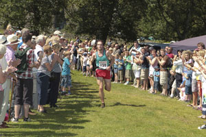 Fell Race finish at Coniston Country Fair