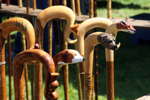 Walking Sticks at Coniston Country Fair