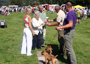Terrier Show at Coniston Country Fair